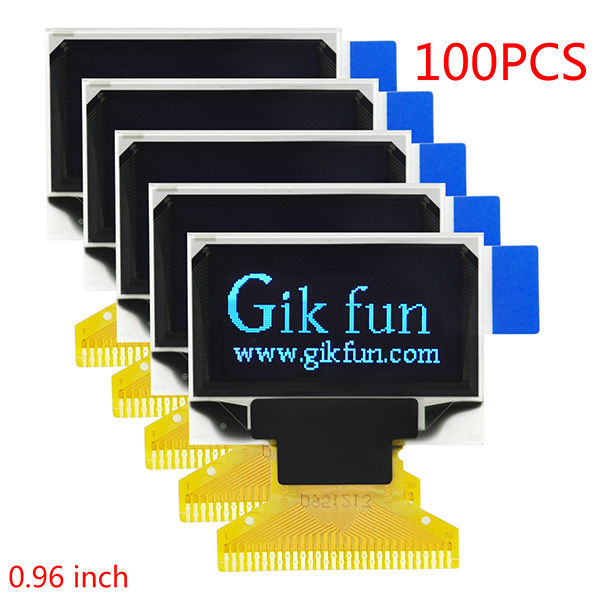 100pcs OLED Display 128 x 64 Pixels 30 Pin