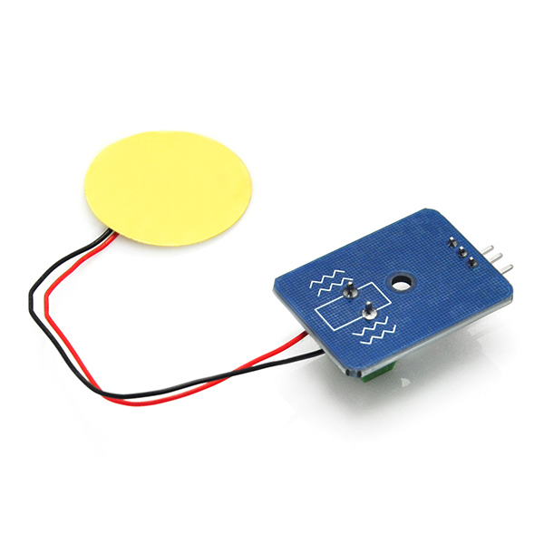 Analog Ceramic Piezo Vibration Sensor Module for Arduino DIY Kit