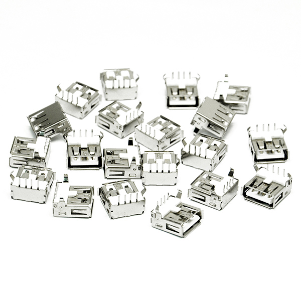 20x USB Female Type A Port 4-Pin DIP Jack Socket Connect