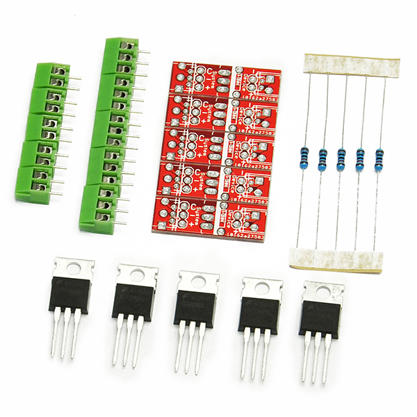 5PCS New RFP30N06LE TO-220 MOSFET Power Control Kit For Arduino
