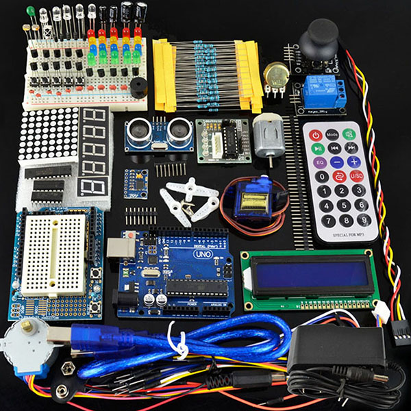 UNO R3 Learning Starter Kit 1602 LCD Dedicated Power Supply 9v1a