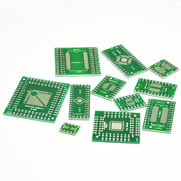 11 Values SOP/QFN/FQFP 14 16 20 24 28 32 to DIP PCB Converter