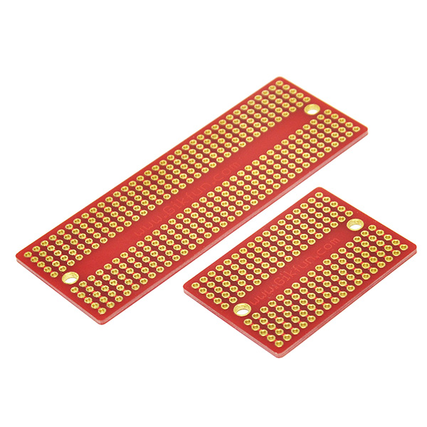 Mini Solder-able Breadboard Proto Board Pcb Diy Kit for Arduino