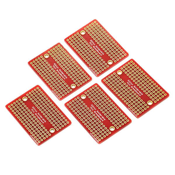 Mini Solder-able Breadboard Gold Plated Finish Proto Board PCB