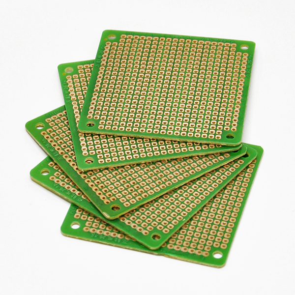 5pcs 6x6cm Universal Experiment Green Circuit Board PCB Diy