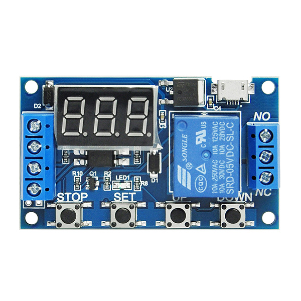 DV 6V~30V Multifunction Trigger Delay Time Module