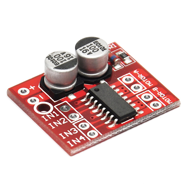 1.5A Dual Channel DC Motor Driver Dual H-Bridge Stepper Arduino